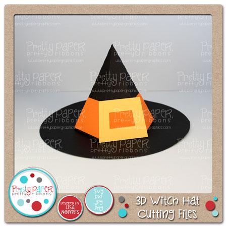 3D Witch Hat Cutting Files