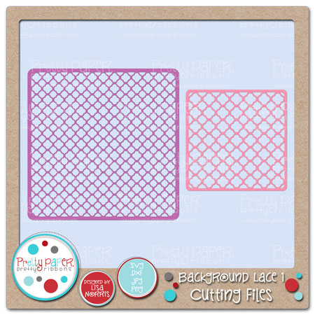 Background Lace 1 Cutting Files