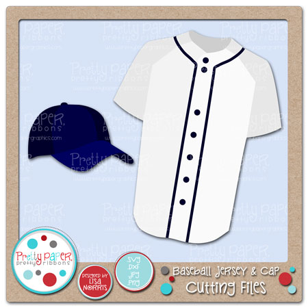 Baseball Jersey & Cap Cutting Files