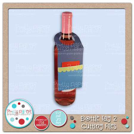Bottle Tag 2 Cutting Files