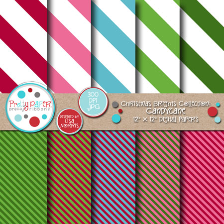 Christmas Brights Candycane