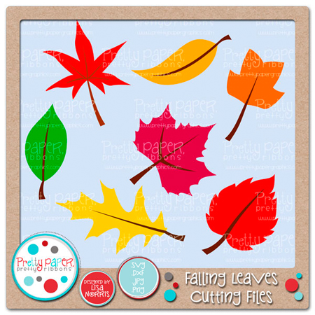 Falling Leaves Cutting Files
