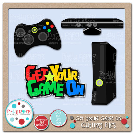 Get Your Game On Cutting Files