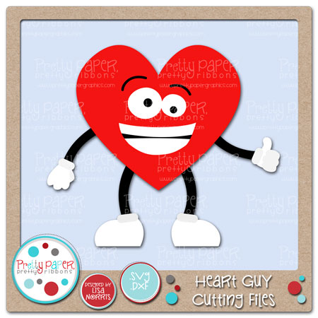 Heart Guy Cutting Files