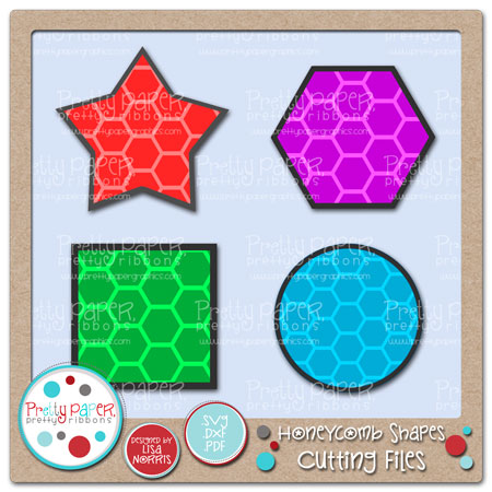 Honeycomb Shapes Cutting Files