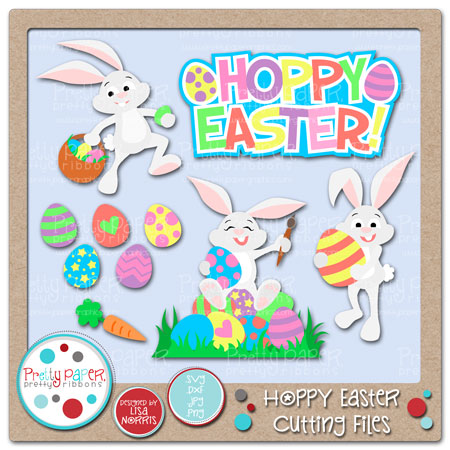 Hoppy Easter Cutting Files