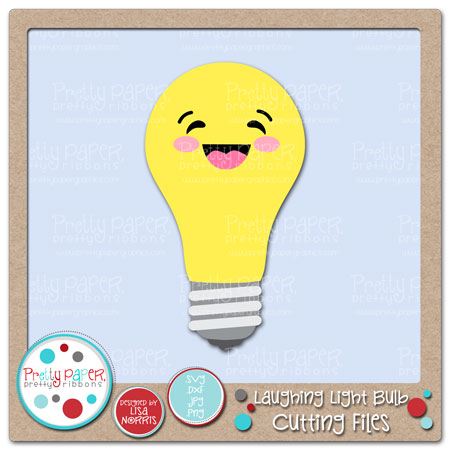 Laughing Light Bulb Cutting Files
