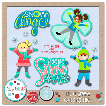 Let it Snow Cutting Files