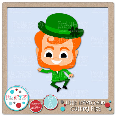 Little Leprechaun Cutting Files