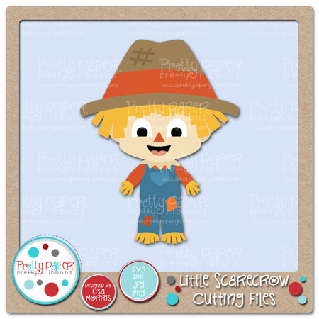Little Scarecrow Cutting Files