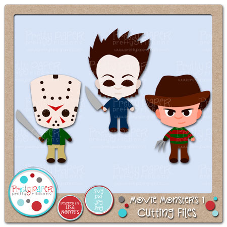 Movie Monsters 1 Cutting Files