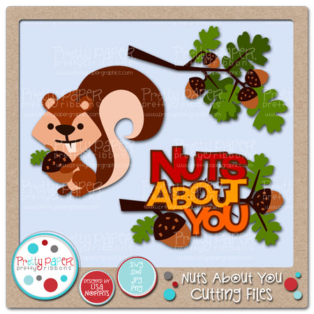Nuts About You Cutting Files