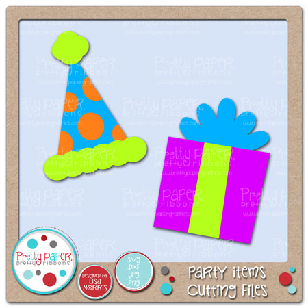 Party Items Cutting Files