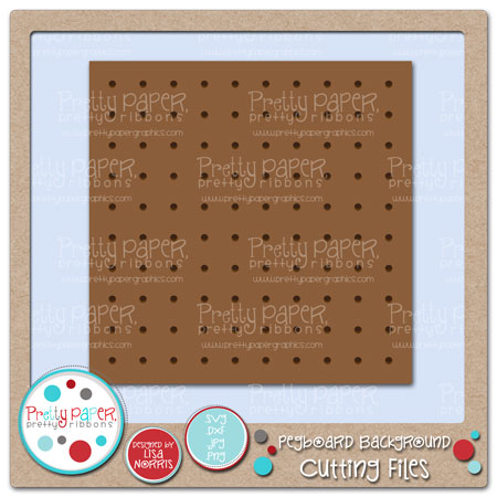 Pegboard Background Cutting Files