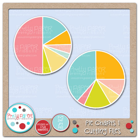 Pie Charts 1 Cutting Files