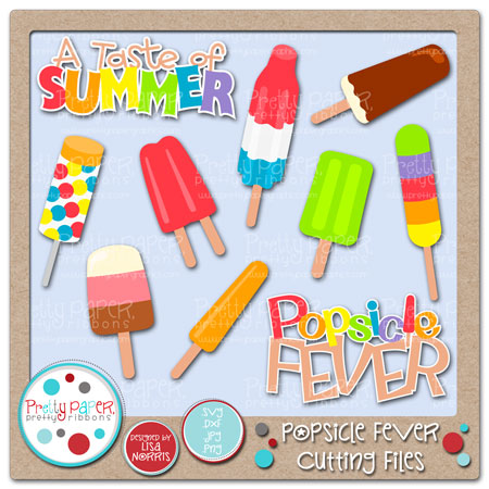 Popsicle Fever Cutting Files