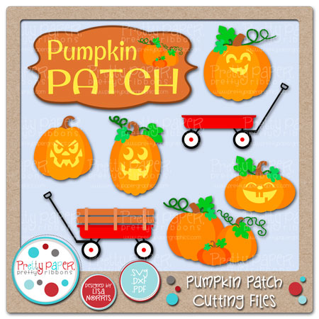 Pumpkin Patch Cutting Files