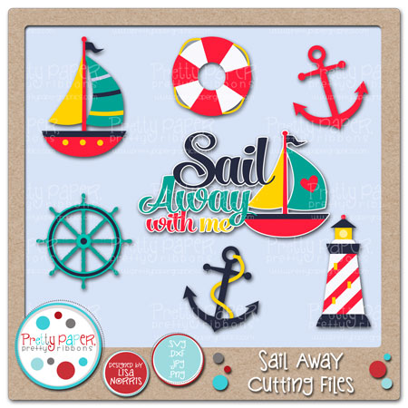 Sail Away Cutting Files