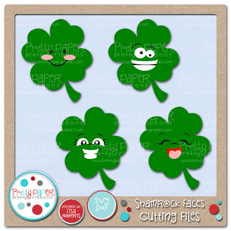 Shamrock Faces Cutting Files