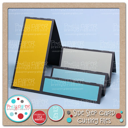Side Step Card Cutting Files