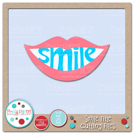 Smile Title Cutting Files