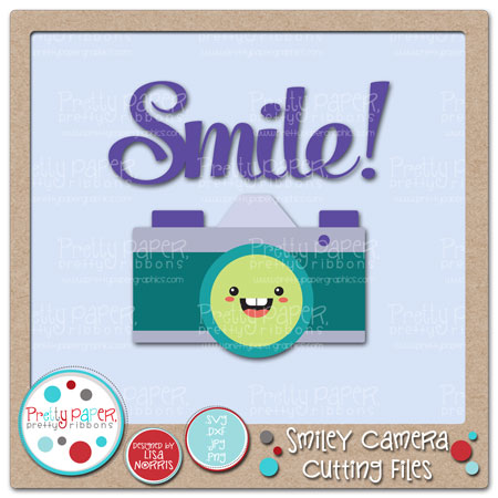 Smiley Camera Cutting Files