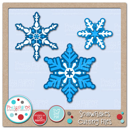 Snowflakes Cutting Files