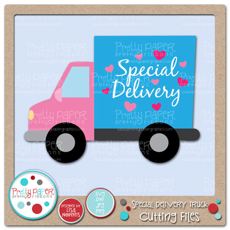 Special Delivery Truck Cutting Files