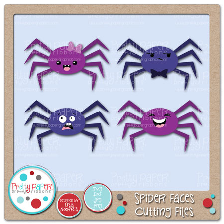 Spider Faces Cutting Files