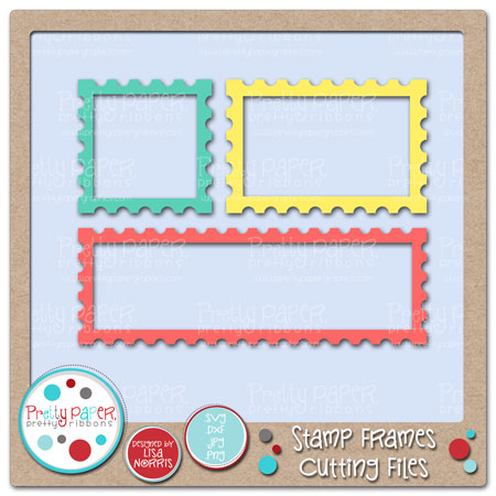 Stamp Frames Cutting Files
