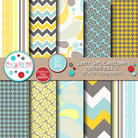 Sunny Skies Pattern Pack 2