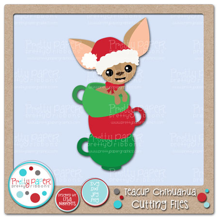 Teacup Chihuahua Cutting Files
