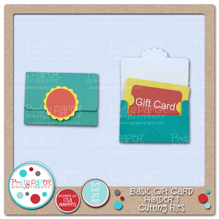 Basic Gift Card Holder 1 Cutting Files
