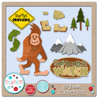 Bigfoot Cutting Files
