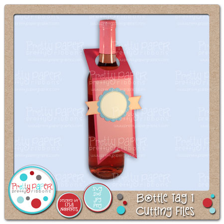 Bottle Tag 1 Cutting Files