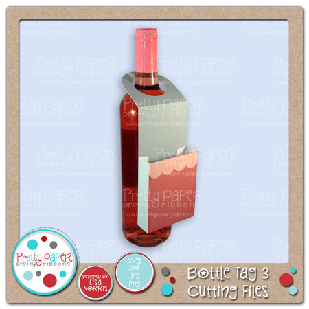 Bottle Tag 3 Cutting Files