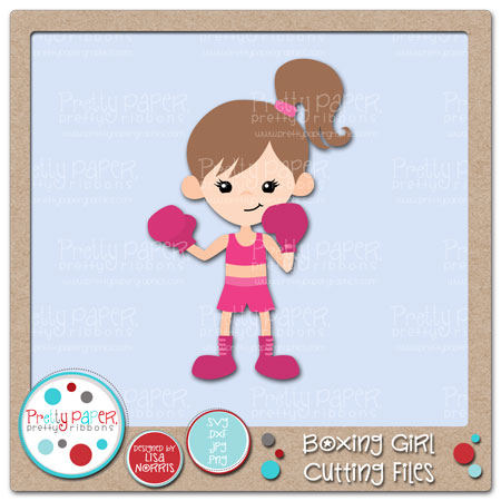 Boxing Girl Cutting Files