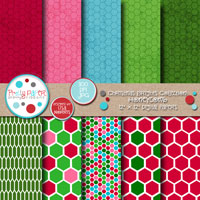 Christmas Brights Honeycomb