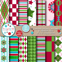 Christmas Brights XL Pattern Pack