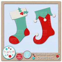 Christmas Stockings Cutting Files
