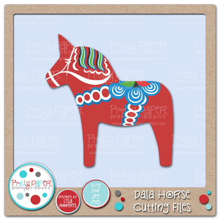 Dala Horse Cutting Files