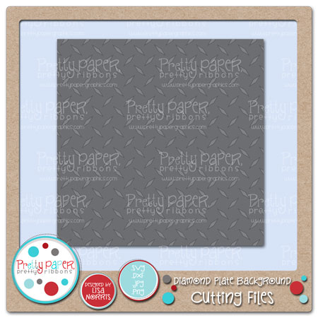 Diamond Plate Background Cutting Files