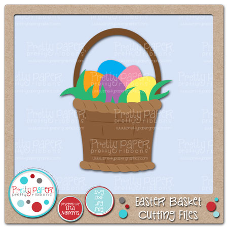 Easter Basket Cutting Files