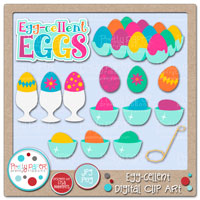 Egg-cellent Digital Clip Art