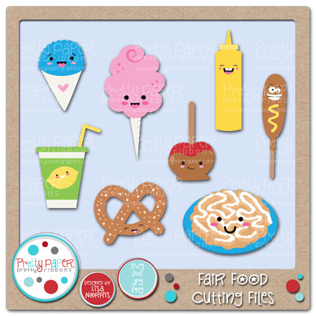 ***BUNDLE*** Fair Food Cutting Files