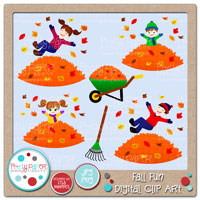 Fall Fun Digital Clip Art