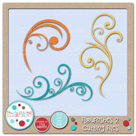 Flourishes 2 Cutting Files