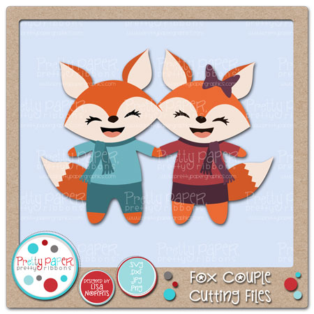 Fox Couple Cutting Files