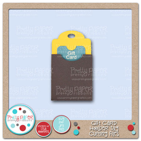 Gift Card Holder Tag Cutting Files