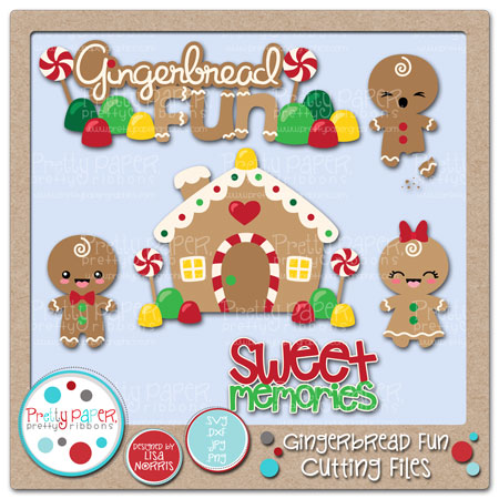 Gingerbread Fun Cutting Files